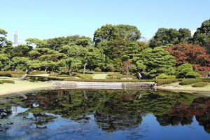 The east garden of the Imperial Palace