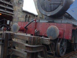 ในที่สุดก็ได้นั่ง Hogwarts Express มาถึง Hogwart!