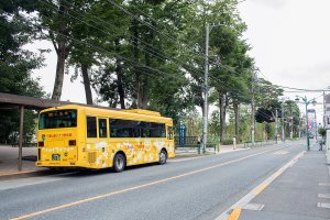 The restaurant is directly opposite the Ghibli Museum and can be accessed via the discount Ghibli shuttle