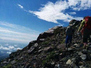 Climbing Chausu-dake