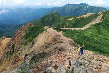 Trekking the Nasu Mountains