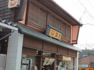 三国の伝統的な町屋、かぐら造りである