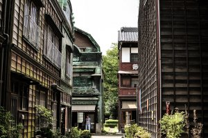 From the back alleys of the Edo-Tokyo Open Air Architectural Museum