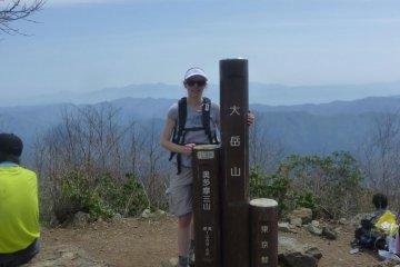 Вершина горы Одакэ