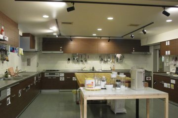 <p>The kitchen provides almost all the supplies you could need</p>