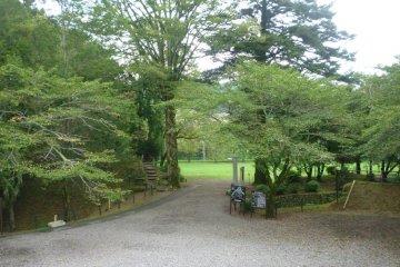 Nagashino Castle remains