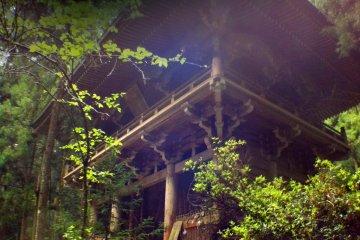 The gateway to Taiho-ji Temple