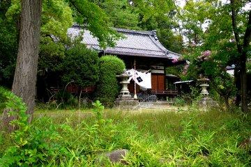 Hachiman Shrine in Kofu