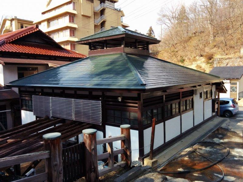 <p>The&nbsp;Taki no Yu bath house&nbsp;</p>