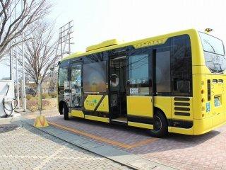 JR小松駅とを結ぶバス