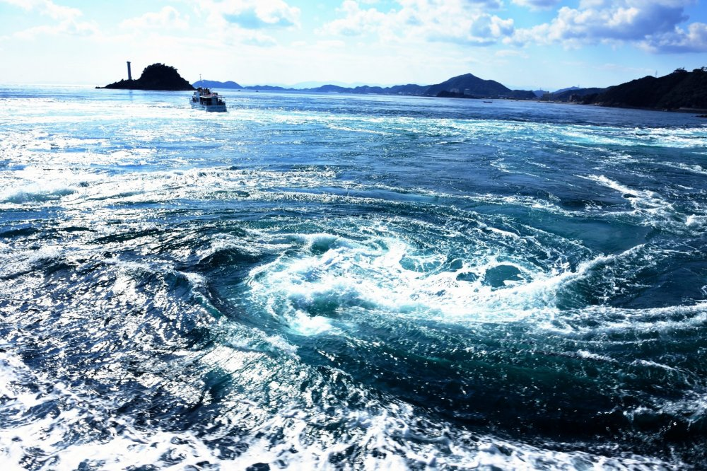 The Great Naruto Whirlpools Tokushima Japan Travel