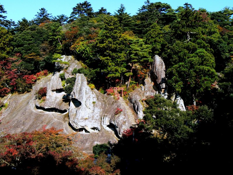 <p>Magnificent rock formations</p>