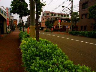 Tokyo suburban street