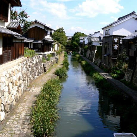Summer at Omihachiman Canal