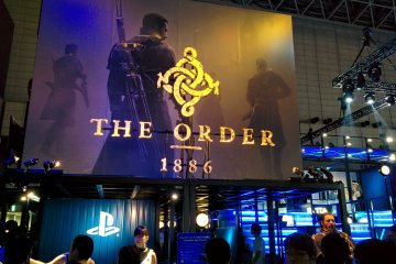 <p>The Order: 1886 at the Sony booth</p>