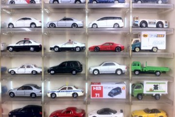 Retro and Modern Tomica Cars