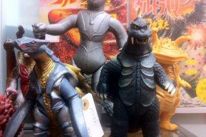 Retro Dinosaurs and Godzillas