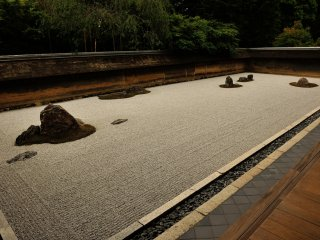 'Rock Garden', a symbol of Ryoan-ji Temple. This garden can be interpreted in many ways, depending on each viewer's thought or beliefs