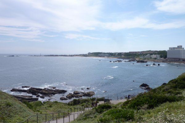 View from the coast
