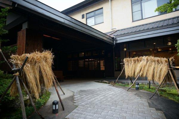 แค่ทางเข้าHoshino Resorts KAI Alps ก็ประทับใจแล้ว