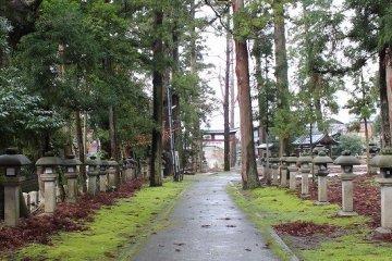 福井越前「岡太神社」「大滝神社」参詣