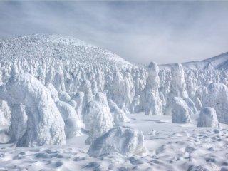 Os monstros de neve vêm aí!