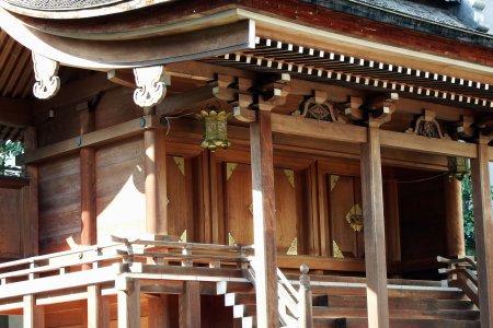 城跡に佇む福井の柴田神社