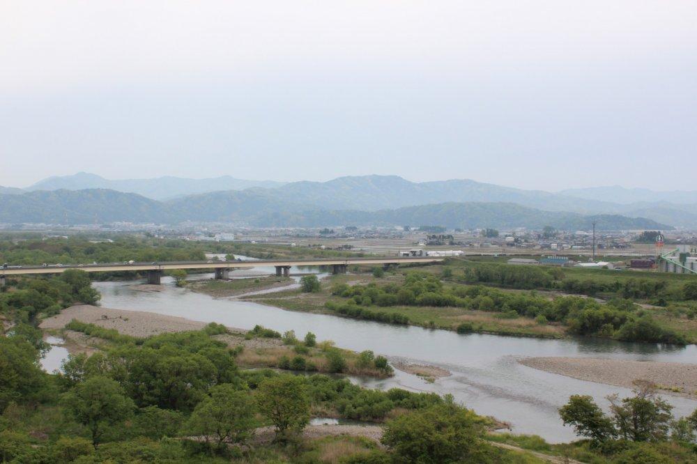「九頭竜川 福井県福井市舟橋新町」の画像検索結果