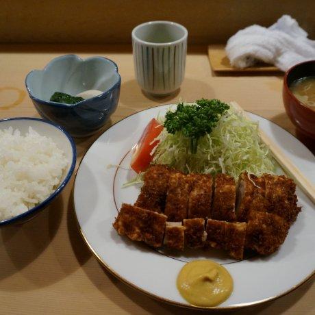 กิน tonkatsu ร้าน tonki