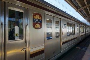 รถไฟสายดั้งเดิมไป nikko