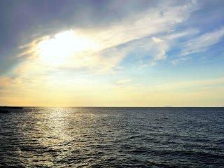 Futami Seaside Park ในภูมิภาคเอะฮิเมะ (Ehime) : หนึ่งใน 100 สถานที่สำหรับชมพระอาทิตย์ตกดินในญี่ปุ่น