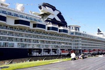 Du thuyền Celebrity Millennium, Yokohama