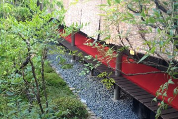 <p>The restaurant&#39;s private rooms are delightfully secluded</p>
