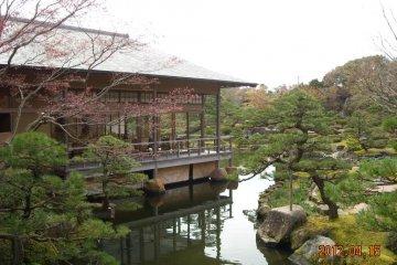 Yuushien Garden on Daikon-shima
