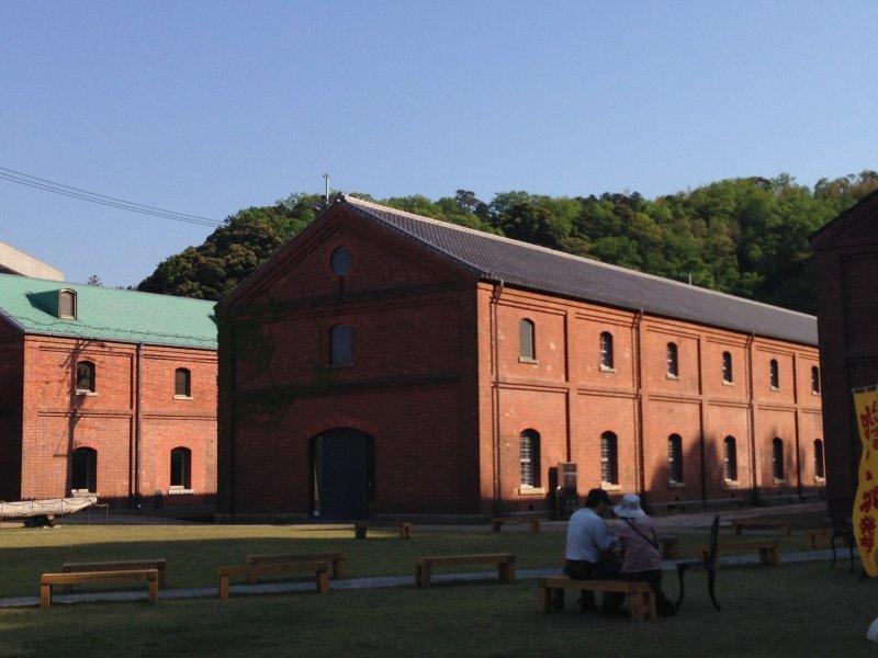 <p>The red brick historical warehouses of Maizuru</p>