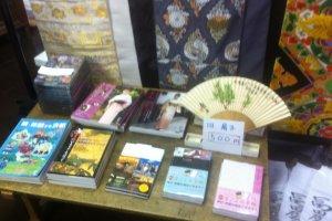 Various souvenirs for sale
