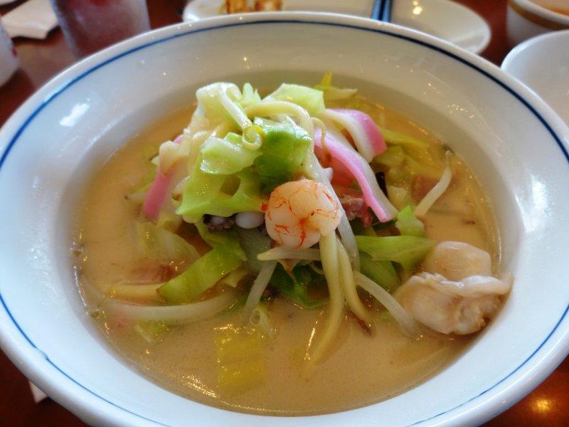 <p>A bowl of Nagasaki&#39;s famous champon noodles</p>