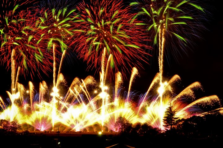 Nagano Ebisukō Fireworks Festival