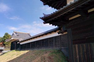 Outside the Edo Castle zone