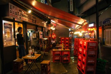 <p>Izakaya with its beer crate tables and chair set up offers a great experience for tourists to eat and drink like how the locals do.</p>