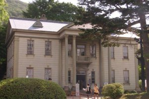 日本第一座英國領事館(現為迷人的茶室)