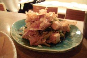 Famous Okinawan dish goya champuru