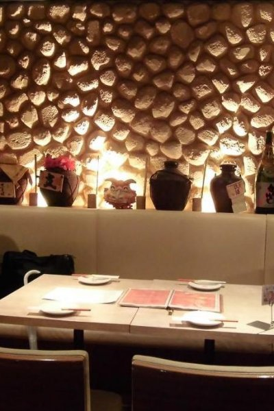 Cozy atmosphere of seated restaurant space