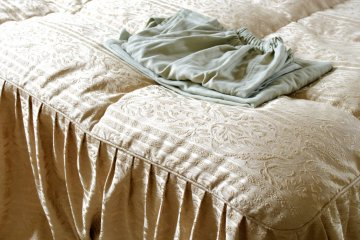 <p>All hotel guest&#39;s are provided with clean and comfortable pyjamas and slippers</p>