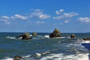 La mer près d'Ise est magnifique