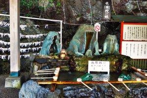 Les grenouilles du sanctuaire Okitama sont toutes différentes les unes des autres