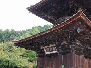 文禄5 (1596) 年、日禛(にっしん)上人が、当寺に隠棲(いんせい)して堂舎(どうしゃ)を建立(こんりゅう)した。日禎は歌人でもあった。そのこともあって、藤原定家の山荘、時雨亭があったこの小倉山の麓の土地を門倉了以と門倉栄可が寄進した。さらに大名、小早川秀秋らが寄進して堂塔伽藍が整備されたと伝えられている
