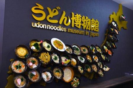 """Музей лапши """"удон"""" в Киото"""