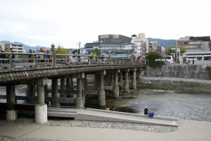 If you're in Kyoto during summer you might want to check out what's going on under the bridges at Kamogawa, where there're probably lots of parties going on