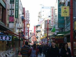 Kobe's Chinatown also known as Nankinmachi